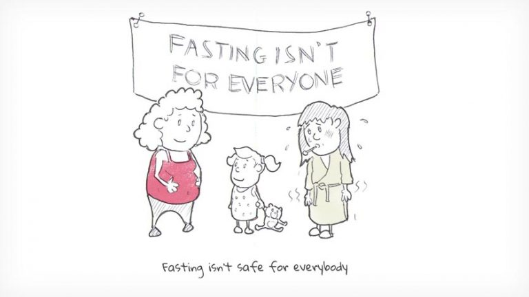 Fasting isn't safe for everybody