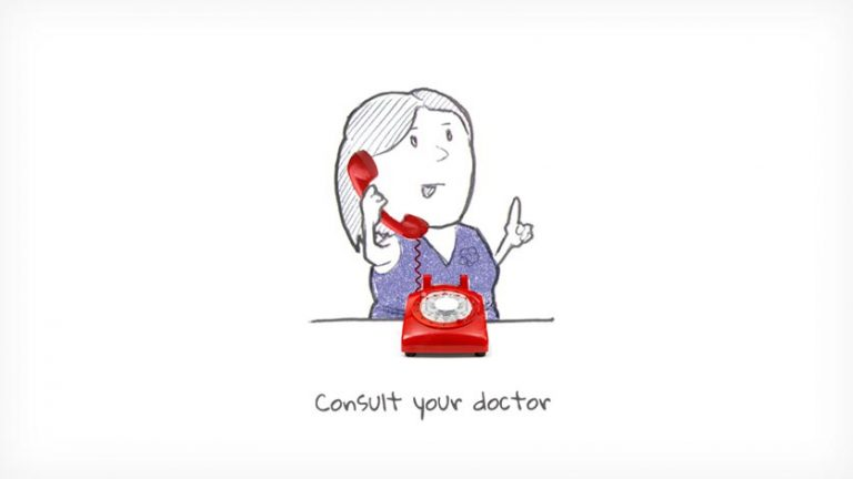 Consult your doctor