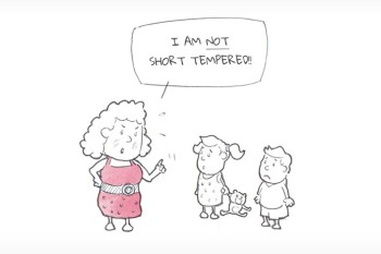 I AM NOT SHORT TEMPERED!!