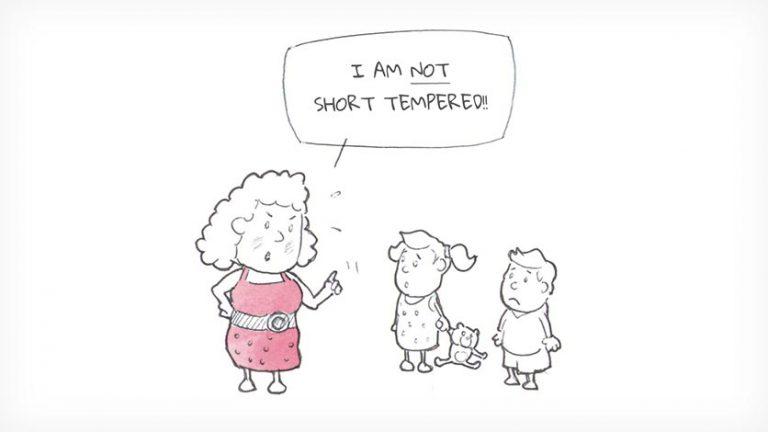 I AM NOT SHORT TEMPERED!!