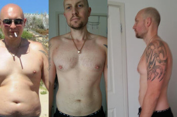 Corey's 5:2 diet weight loss success story